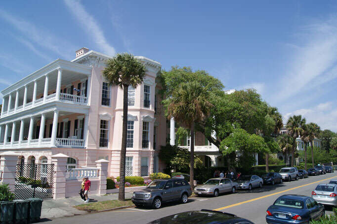 Charleston stylish mansion