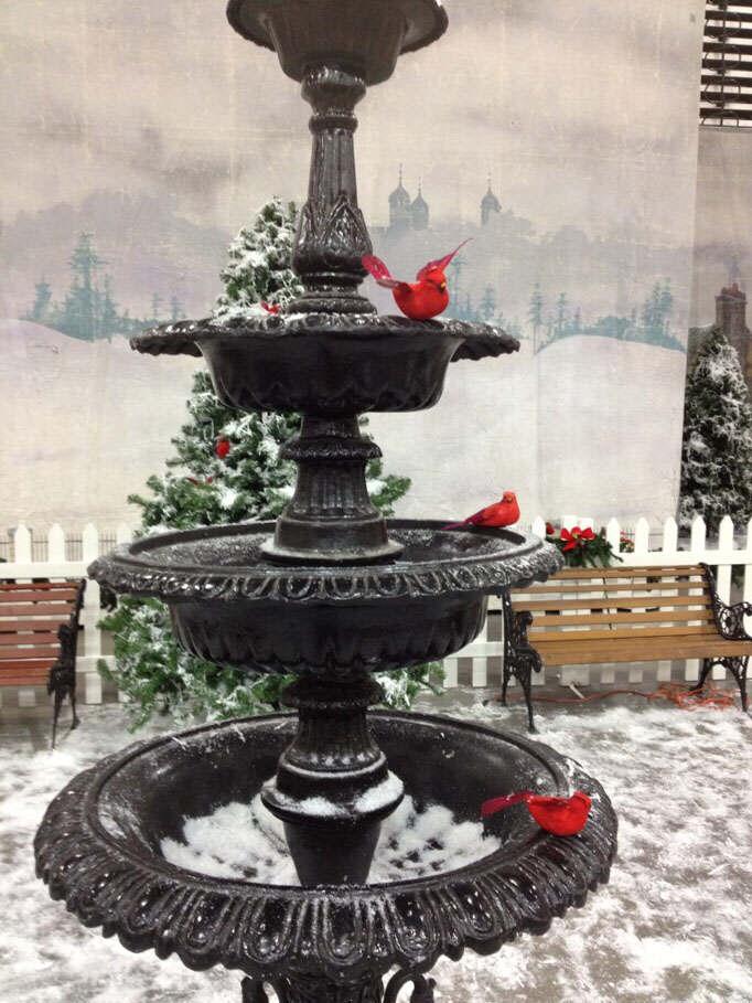 Myrtle Beach Dickens Christmas Show 2012 - Fountain