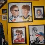 NASCAR paintings