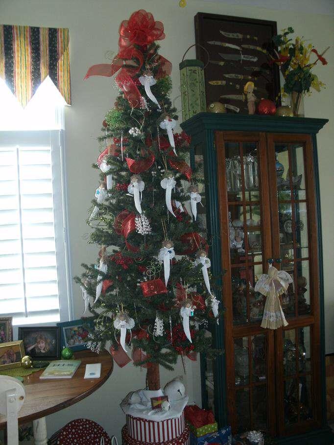 angels Christmas tree