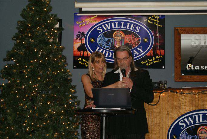 Sandi Chapman and JD - MCs for the Doggies and Divas Fashion Show in North Myrtle Beach