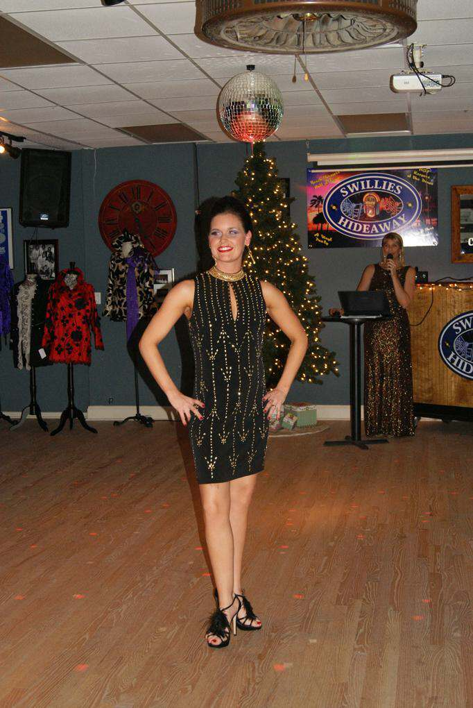 Modeling at the Doggies and Divas Fashion Show in North Myrtle Beach
