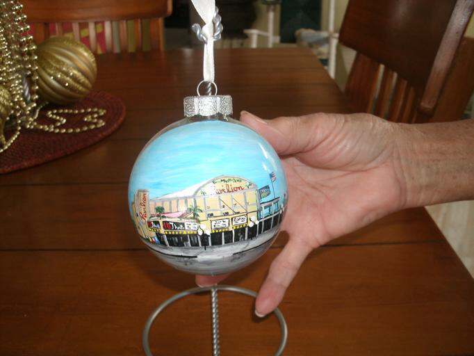 painted ornament