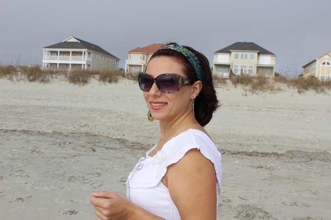 Emanuela Neculai- beach style