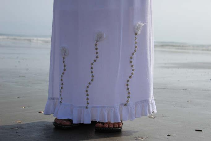 Emanuela Neculai- embelishment dress