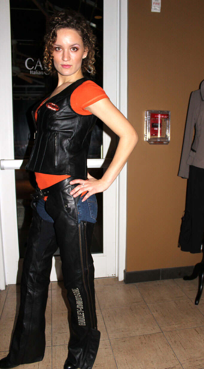 Just for Fun Fashion Show - by Style Strand Fashion; Classic leather vest