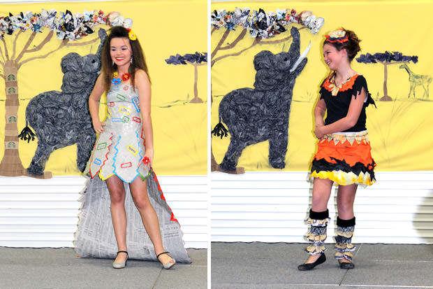 Trashy But Flashy Fashion Show Fashion Show Style Strand Fashion