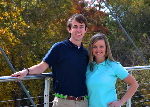 Zac and Sara Painter, Owners of Loggerhead Apparel