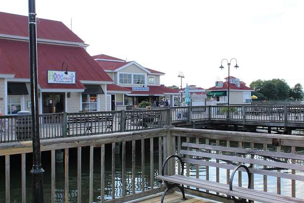 Holiday Shopping at Barefoot Landing in North Myrtle Beach