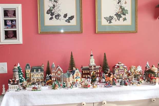 The Village - Mrs. Gail's Christmas Onaments