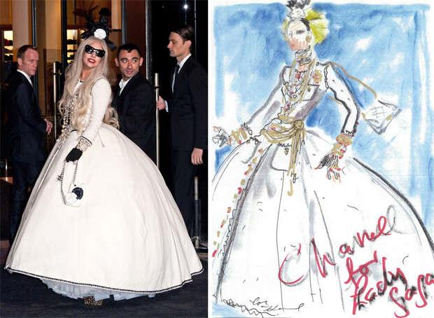 Lady Gaga Haute Couture Chanel
