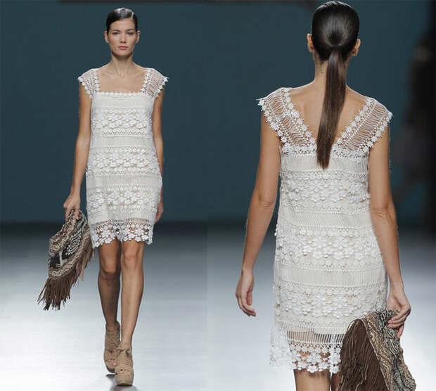 Lace dress by Sitka Semsch