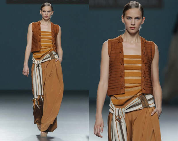 Palazzo pants by fashion designer Sitka Semsch