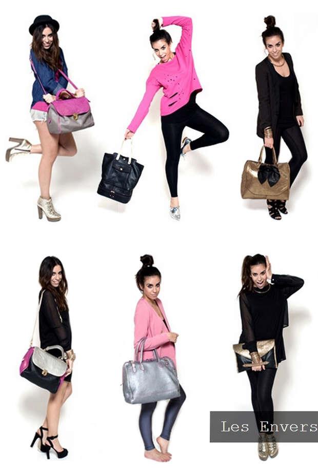 Les Envers' bag collection
