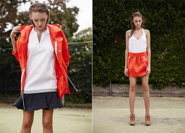 Red Riviera garments