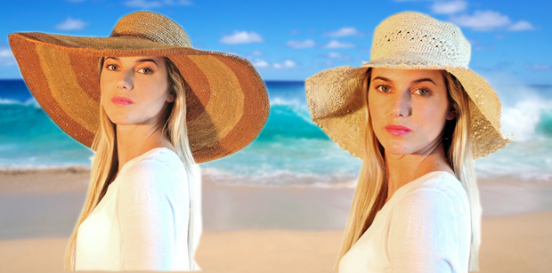 Capelina Crochet and Playa Star beach hats