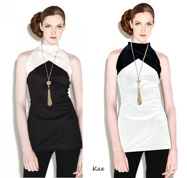 Kae halter top transition piece summer to fall