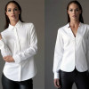 Classic white shirts with a modern twist