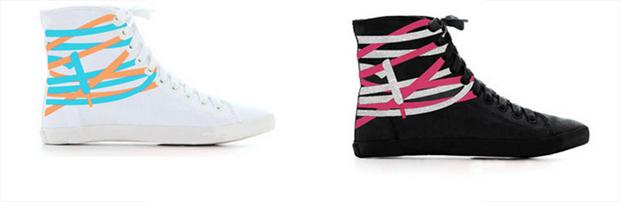 Tangled Sneakers