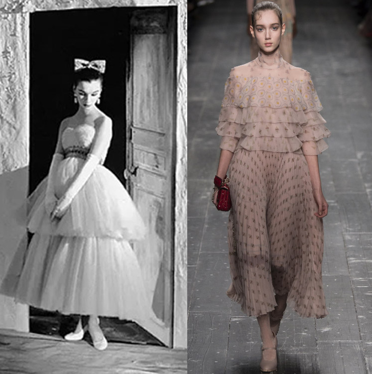 Ballet trend connection form the past to present