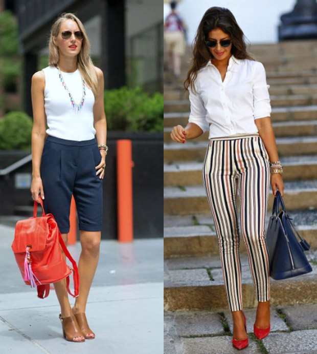 white tops to wear after Labor Day